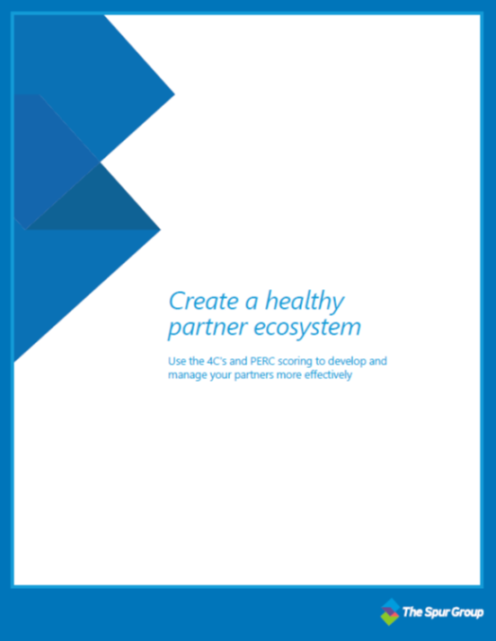 Create a healthy partner ecosystem, the spur group, channel management, consulting