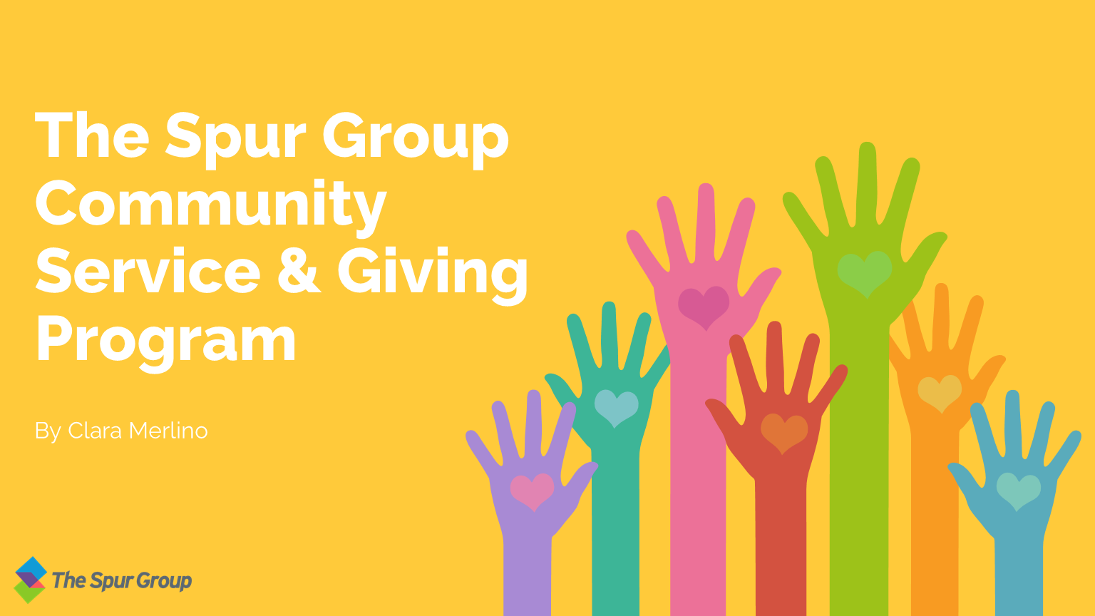 The Spur Group Community Service & Giving Program